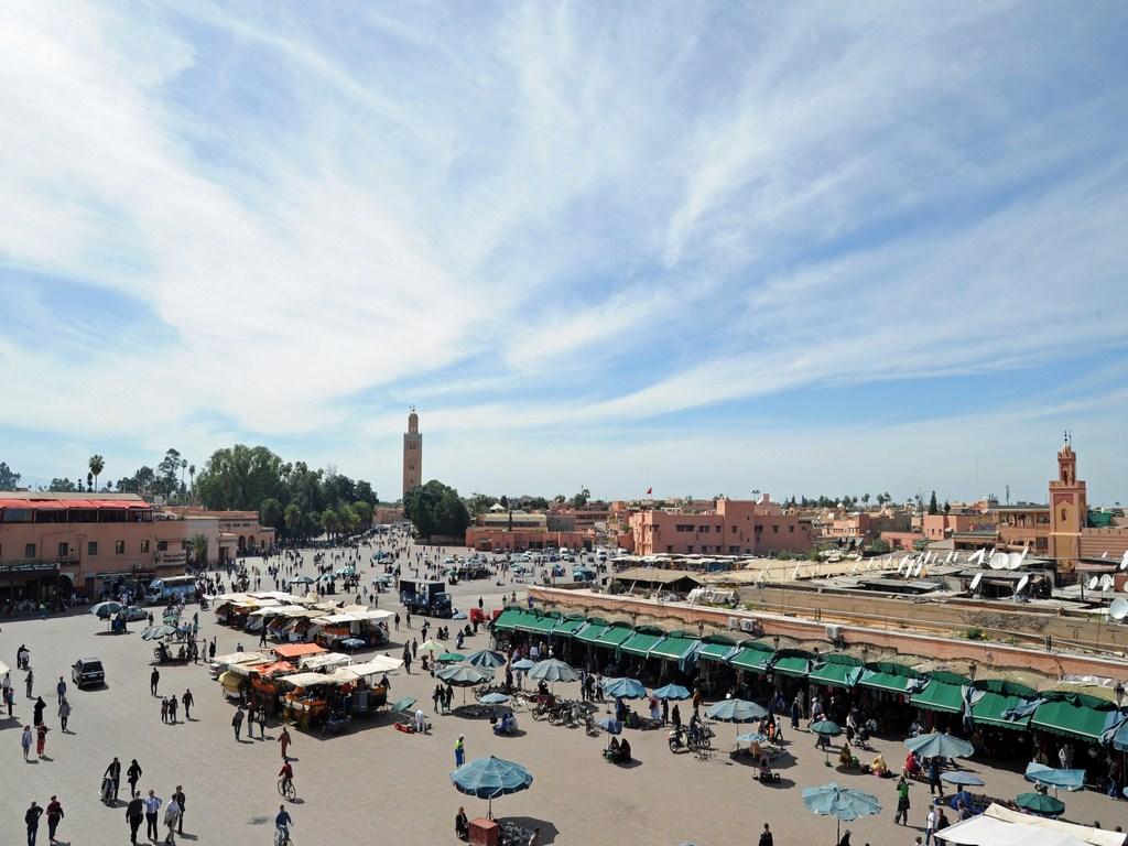 Place Jamaâ El Fna à Marrakech